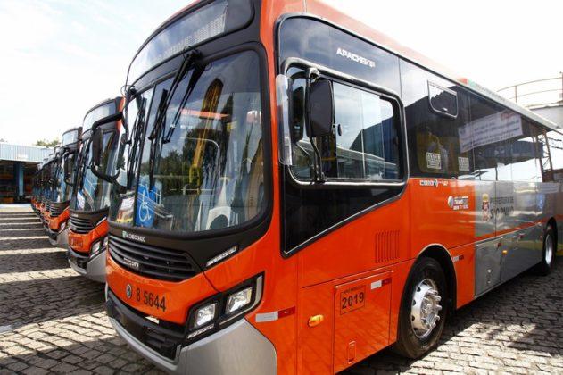 Novos ônibus Transcap