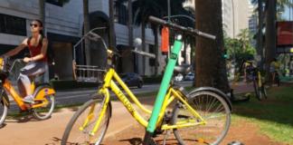 Patinetes e bicicletas Micromobilidade