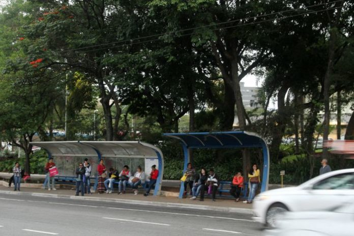 Pontos de ônibus em Santo André