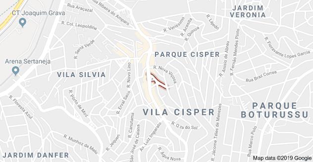 Rua do Acapuzal Vila Cisper