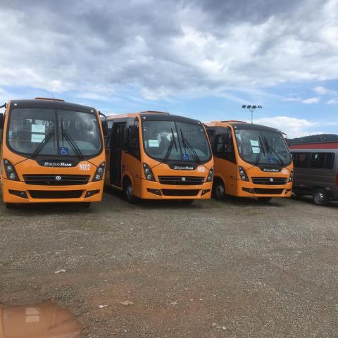 Serviços Linhas Número de ônibus