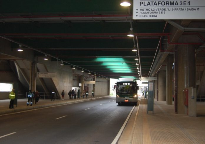 Linha 15-Prata Terminal Vila Prudente Ala Central