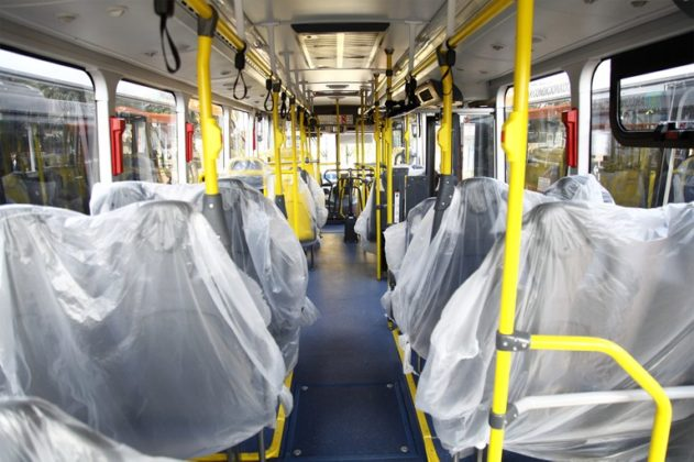 Transcap ônibus novos