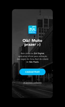 Zul Digital Tela de saudação