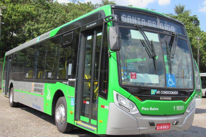 Ônibus Volvo Santa Brígida