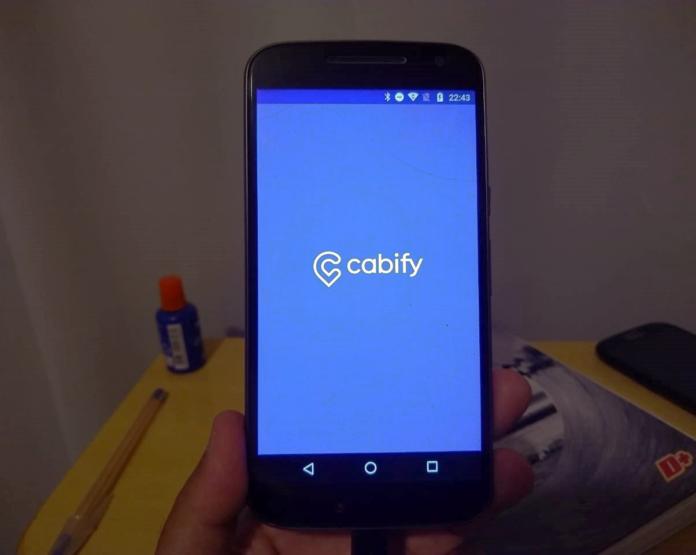 Aplicativo da Cabify