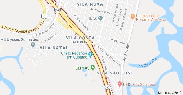 Rodovia Anchieta em Cubatão
