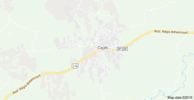 Rodovia Régis Bittencourt em Cajati