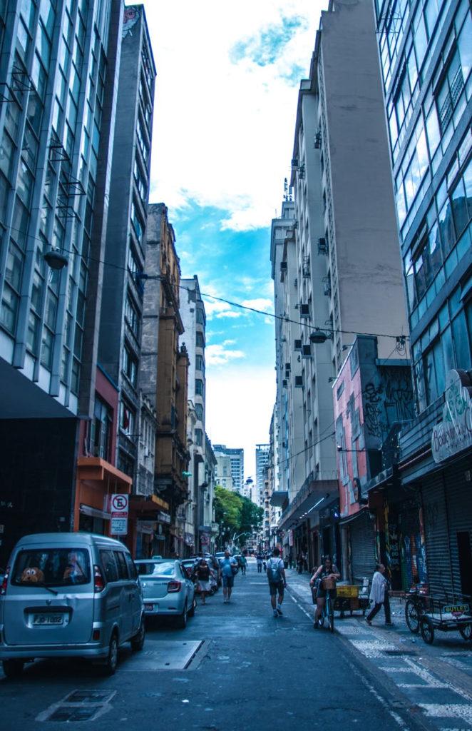 Rua em São Paulo