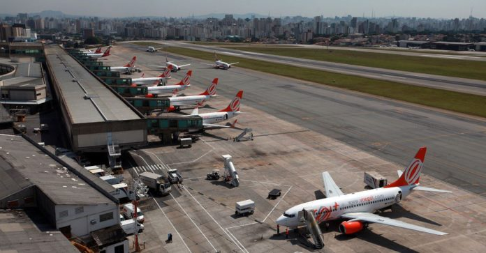 Companhias aéreas no Aeroporto de Congonhas