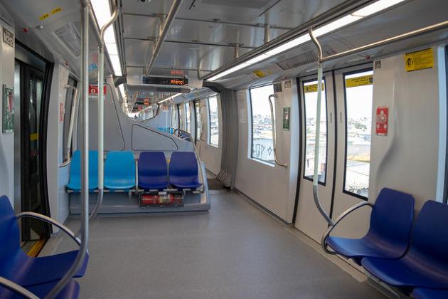 Linha 15-Prata Estação Jardim Planalto Monotrilho Linha 15-Prata