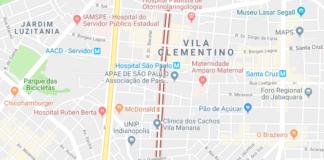 Rua Leandro Dupret na Vila Clementino