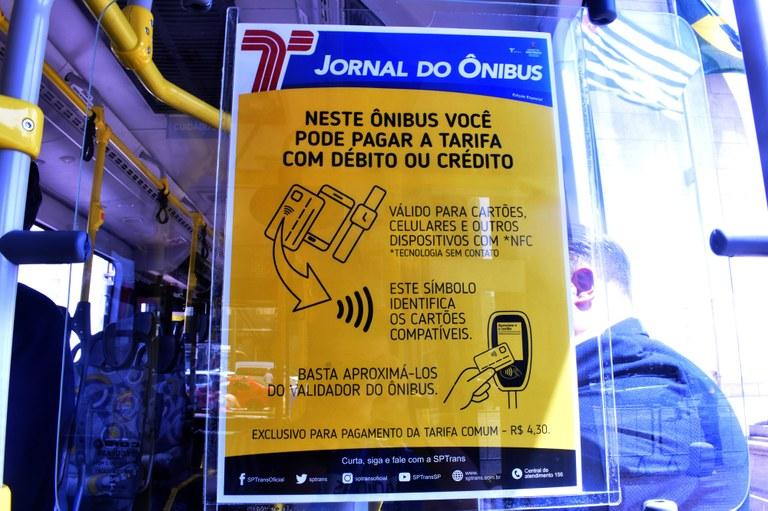 Pagamento Jornal do Ônibus