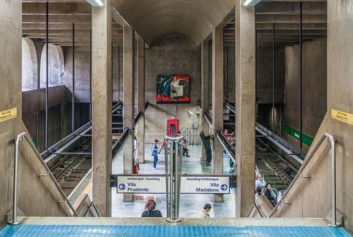 Transporte coletivo Estação Ana Rosa Linha 2-Verde Metrô