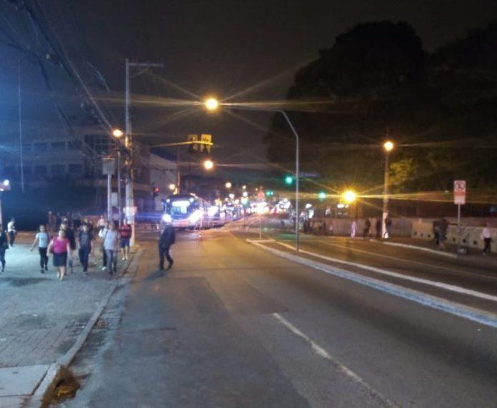 Ocorrência policial Estrada do Campo Limpo