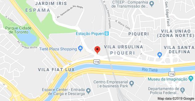 Trecho das obras Avenida Raimundo Pereira de Magalhães