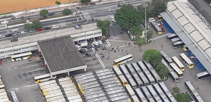Zona Leste Paralisação da Viação Metrópole Paulista