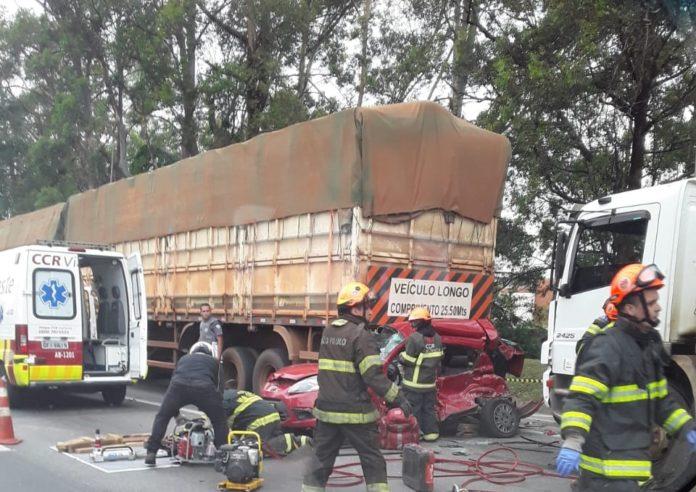 Acidente na rodovia Castelo Branco