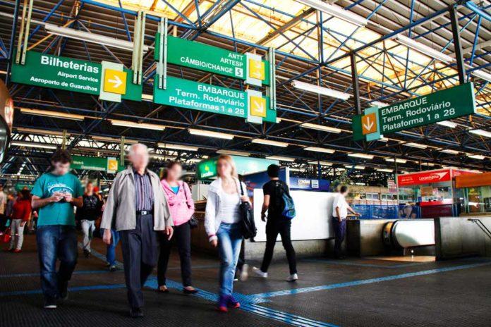 Terminais rodoviários Rodoviária da Barra Funda Socicam