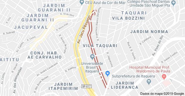Rua Francisco Rodrigues Seckler