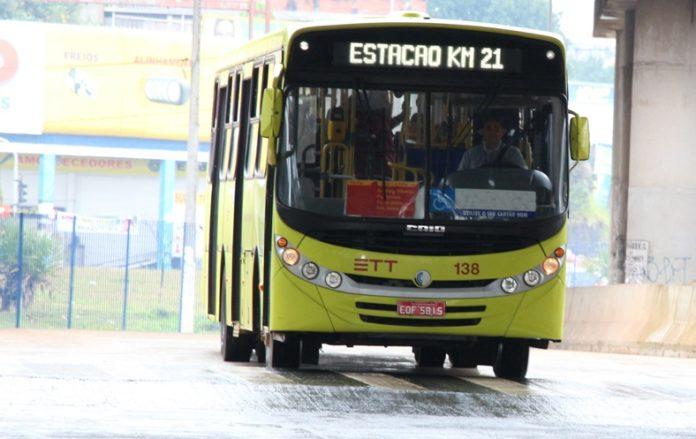 Tarifa de Ônibus em Carapicuíba
