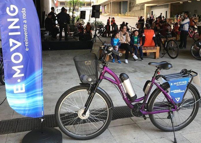Bicicleta E-moving