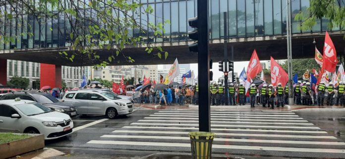 Manifestação na Avenida Paulista Segunda