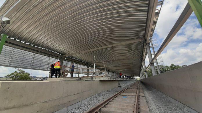 Estação Mendes-Vila Natal Plataforma Obras