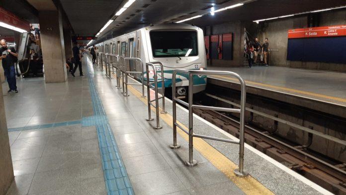 Estação República Vazia Metrô