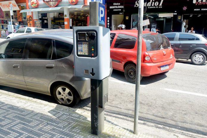 Estacionamento rotativo Santo André