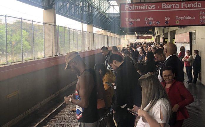 Falha no Metrô Linha 3-Vermelha