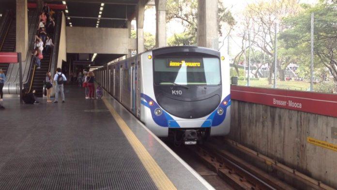 Greve do Metrô Metroviários Linha 3-Vermelha Estação Bresser-Moca