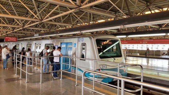 Estação Brás do Metrô Linha 3-Vermelha