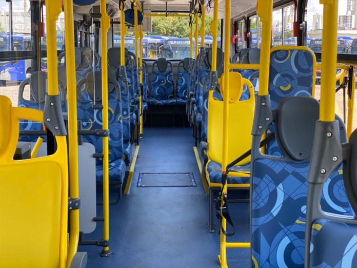 Novos ônibus com ar