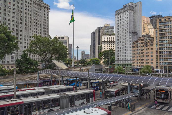 Obras Terminal Bandeira da SPTrans