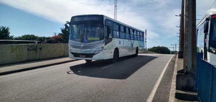 Ônibus com Máscara Viação Guaianazes