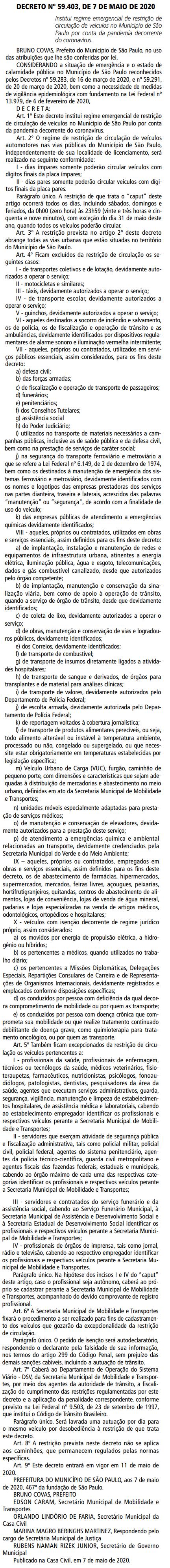 Decreto 59 2020