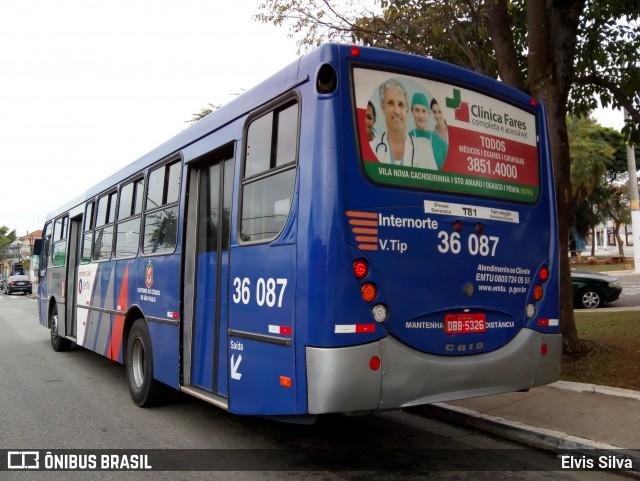 Linhas intermunicipais Ônibus EMTU Internorte