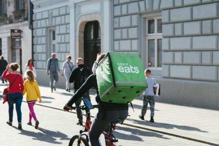 Ciclistas entregadores