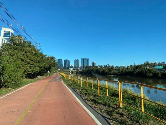 Ciclofaixa Rio Pinheiros