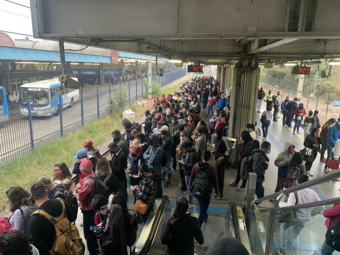 Linha 9-Esmeralda CPTM Grajaú