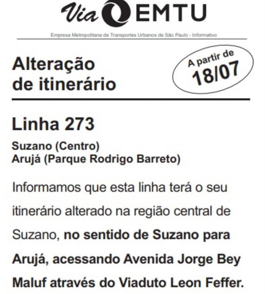 Unileste Linha 273