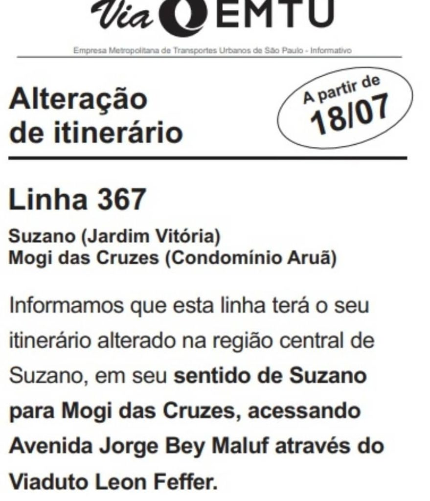 Unileste Linha 367
