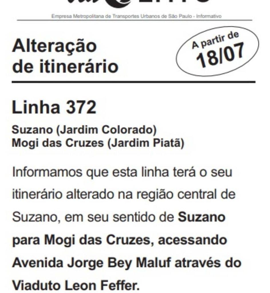 Unileste Linha 372