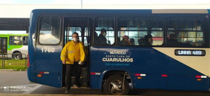 Ônibus Guarulhos Máscaras
