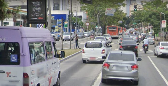 Ciclofaixa Avenida Rebouças