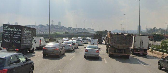 Marginal Pinheiros Ponte Jaguaré