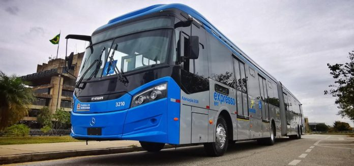 Ônibus BRT Sorocaba