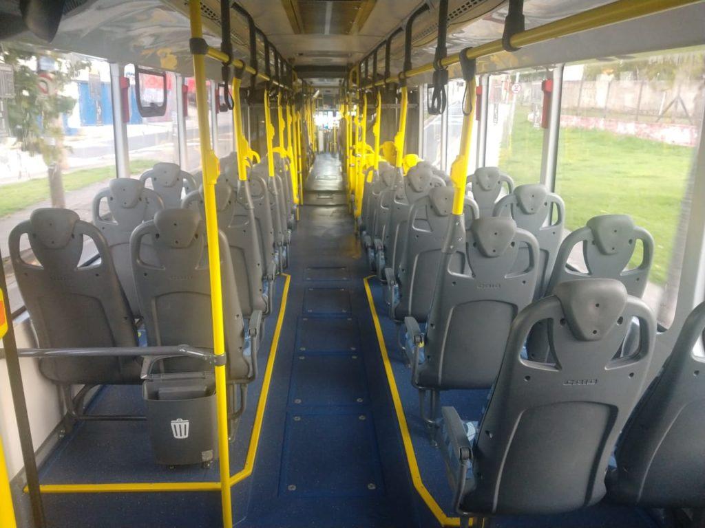 Ônibus treinamento