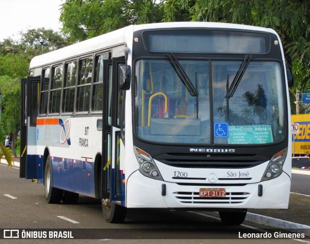 São José Ônibus Franca